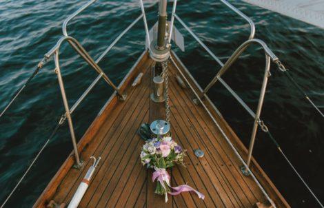 Стильная свадьба на море